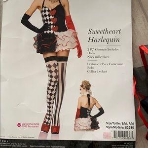 Harlequin Costume Dress
